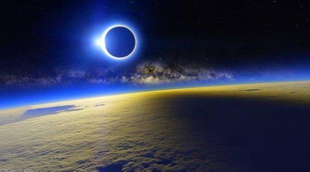 Сегодня можно будет наблюдать полное солнечное затмение