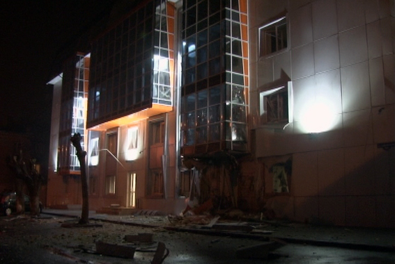 """Неспокойная ночь в Одессе: взорван офис """"Самопомощи"""" (фото)"""