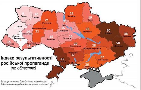 В Бессарабии одно из наибольших влияний российской пропаганды