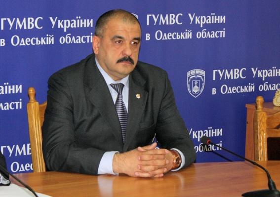 В Измаил приедет глава милиции Одесской области Катеринчук