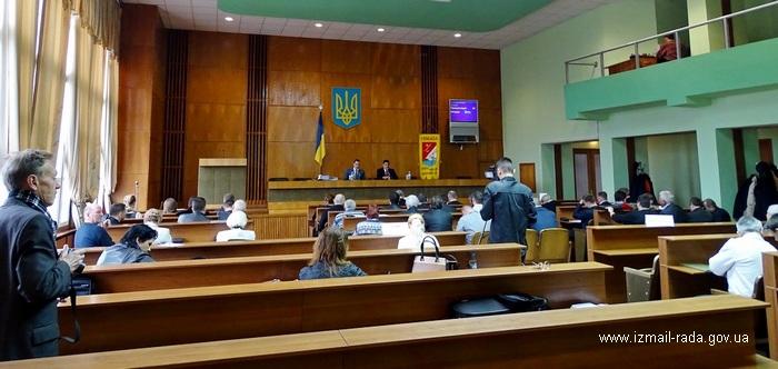 """Заседание 55-й сессии горсовета Измаила - """"самый короткий"""" парламент Одесчины"""