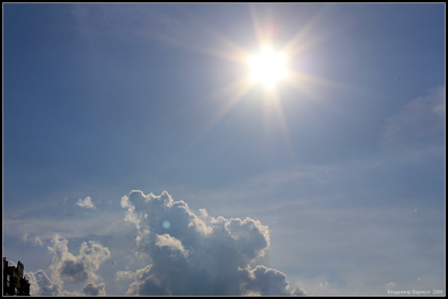 Сегодня в Измаиле тепло и без осадков