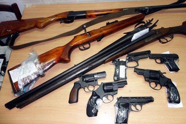 Линейный отдел Измаила просит сдать оружие