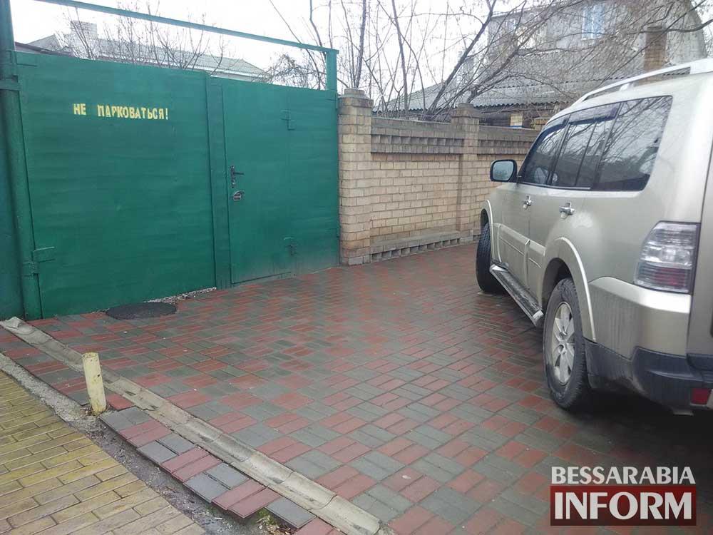 """""""Mitsubishi Pajero"""" в рубрике «Я паркуюсь как дурак»"""