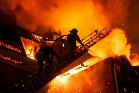 В Аккермане горел жилой дом