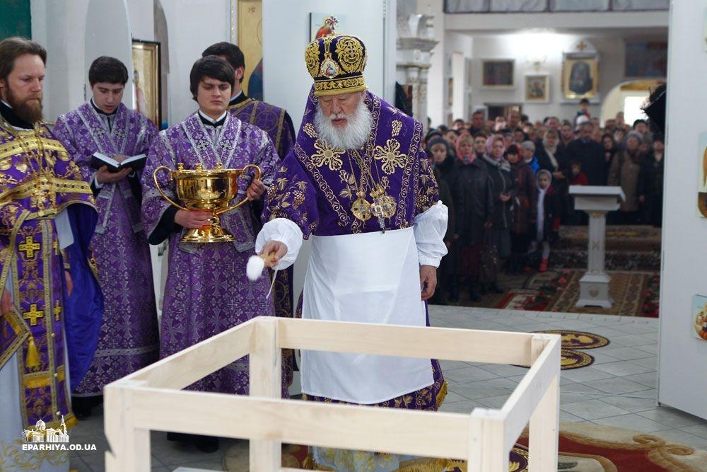 Б.-Днестровский: митрополит Агафангел освятил новый храм(фото)