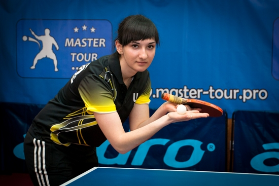 Farladanskaya Измаильская теннисистка вошла в состав сборной Украины