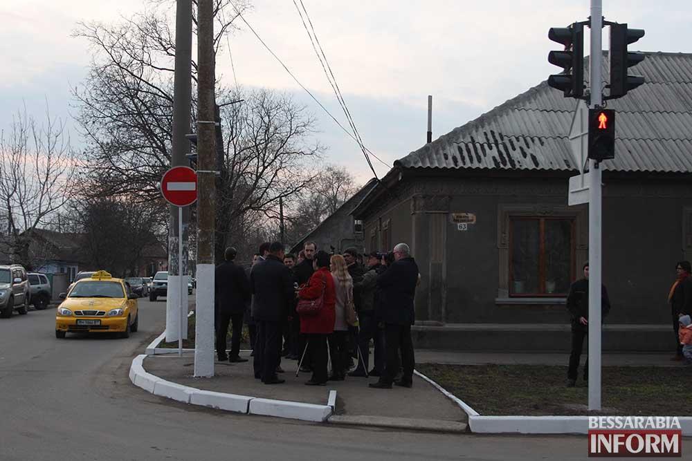 IMG_0298 На Белгород-Днестровской установлен светофор (фото)