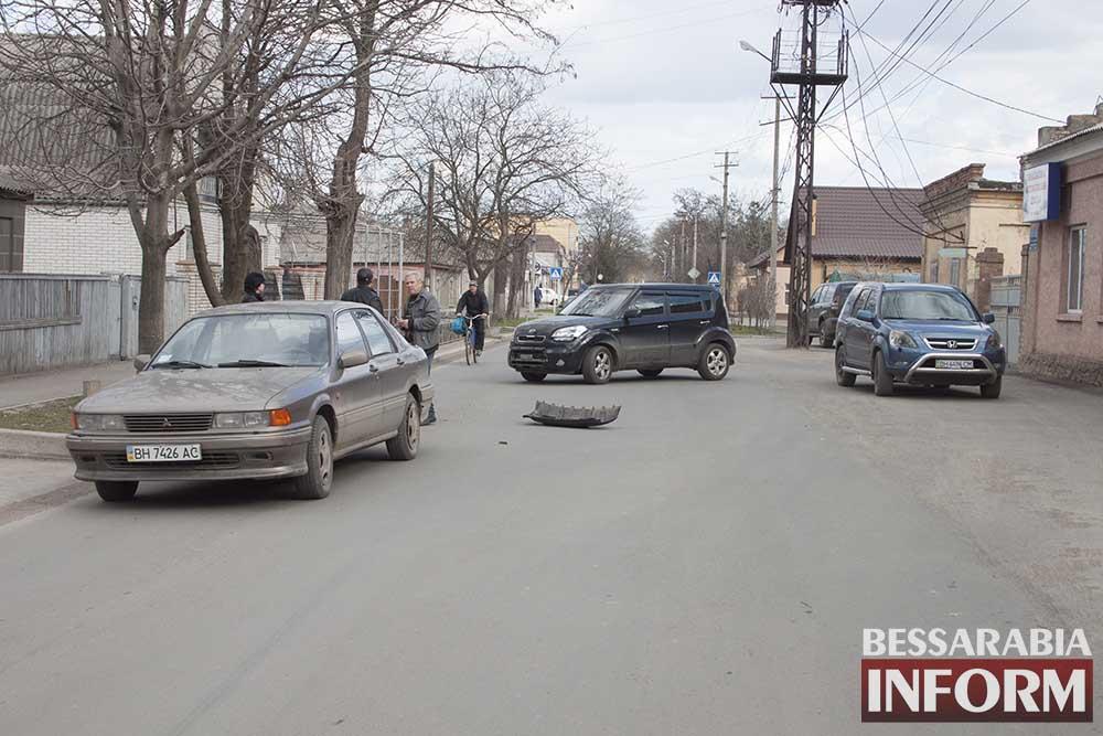 В Измаиле на Ватутина очередное ДТП (фото)