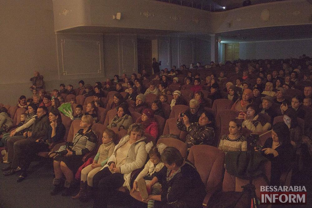 Сегодня в ДК Шевченко поздравили  женщин Измаила(фото)
