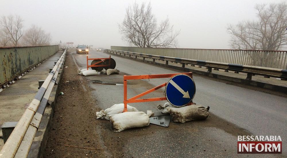 Дороги Одесчины. Рухнет ли мост через Днестр? (фото)