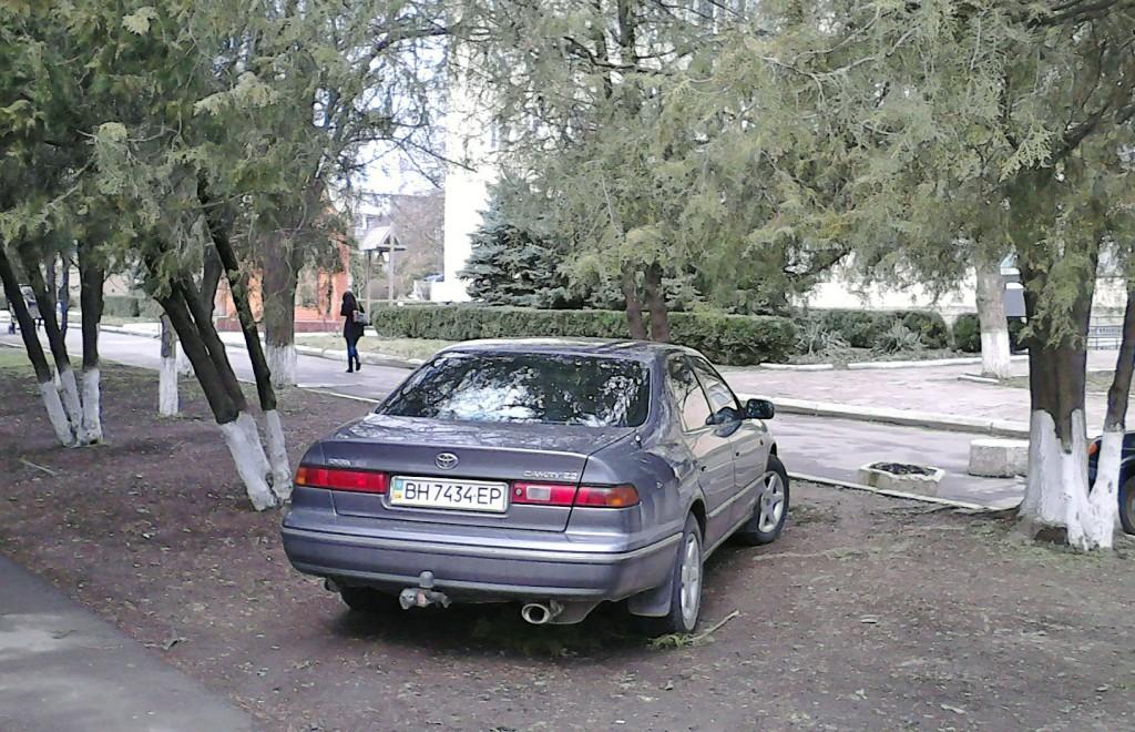 Измаил: Я паркуюсь как дурак под носом у милиции (фото)