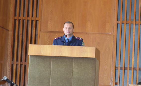 Начальник Измаильской милиции отчитался о  результатах работы