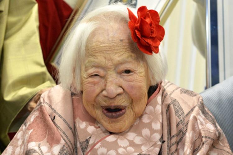 git-4 Самая старая жительница планеты