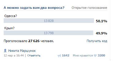 kazan Одесса лидирует в голосовании за место проведения КаZантипа