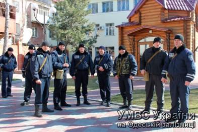 menty_142580687569 Милиционеры-транспортники Одесской области отправились в зону АТО