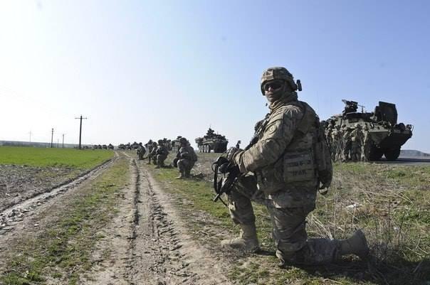 Возле Рени высадились американские войска (фото)