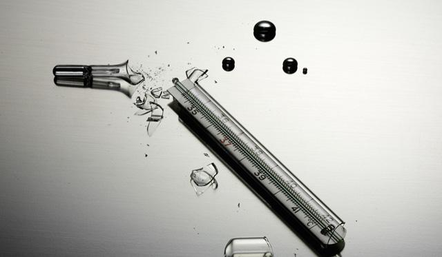 termometr В Белгород-Днестровском дети разбили градусник