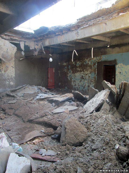 В Килие в доме упала крыша