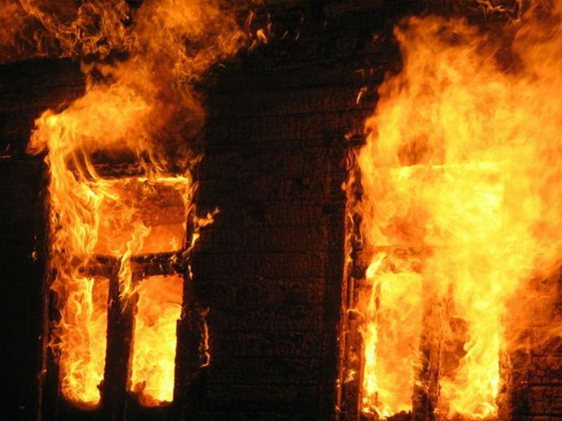 В Килийском р-не горел жилой дом