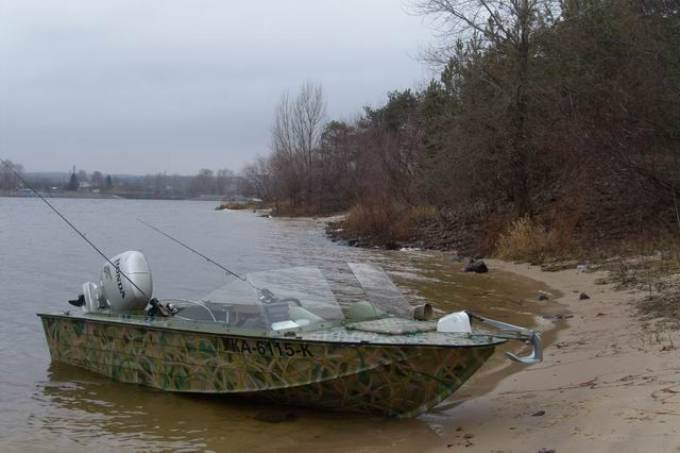 В Измаильском районе лодка осталась без мотора