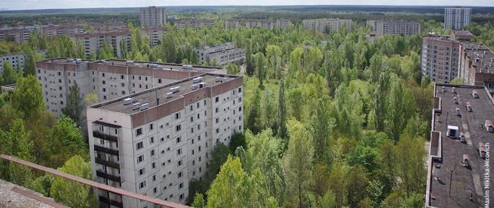 Припять - город-призрак (фоторепортаж)