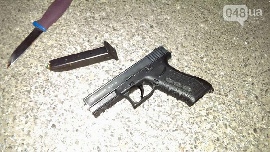 Вооруженного водителя с Аккермана задержали в Одессе