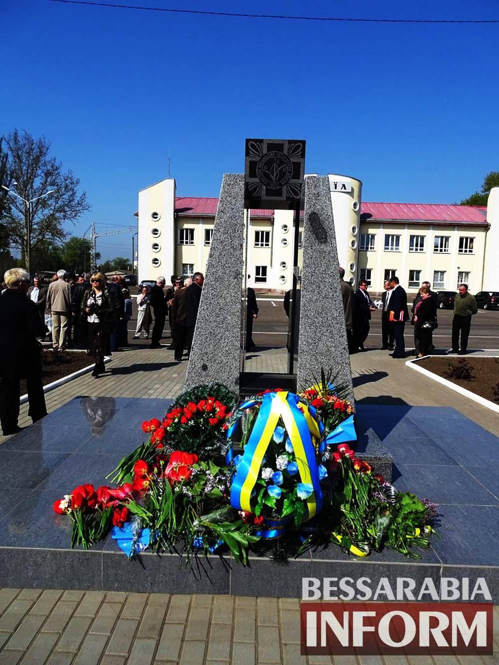 6ChLurOmh6k Измаил почтил память героев-ликвидаторов Чернобыльской катастрофы (фото)