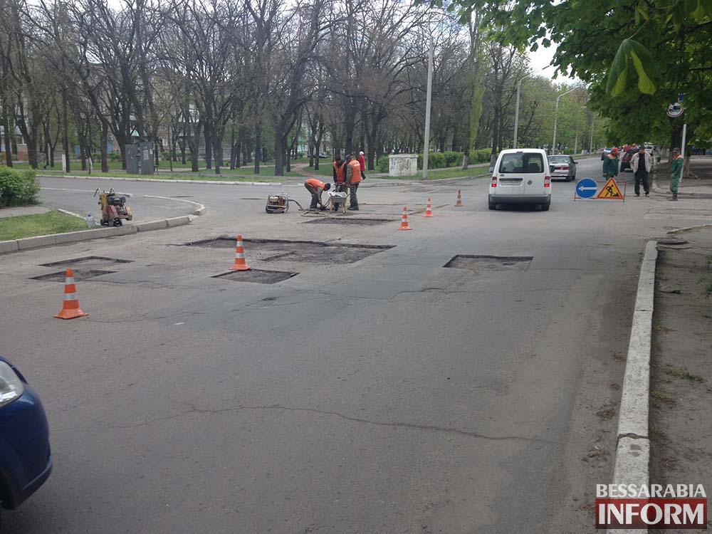 Где в  Измаиле отремонтируют дороги
