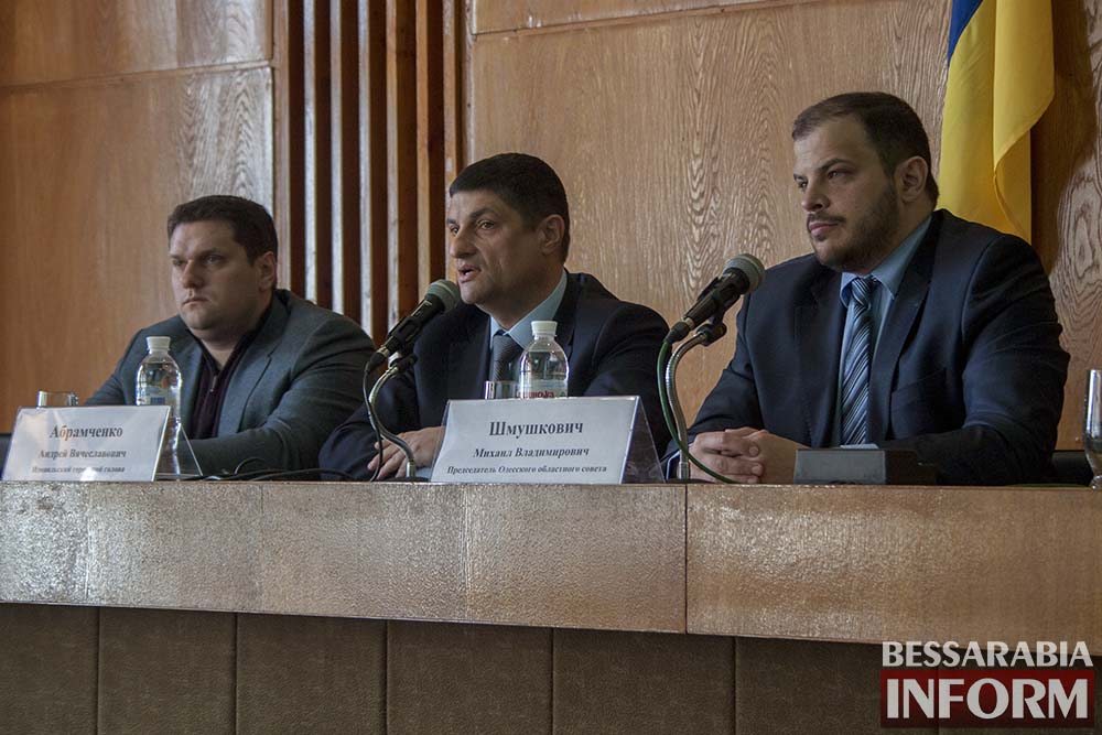 Измаил посетил глава облсовета Михаил Шмушкович (фото, видео)