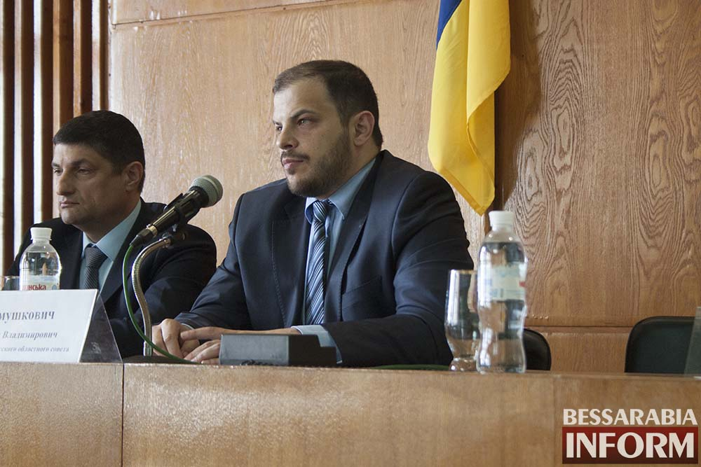 IMG_3999 Измаил посетил глава облсовета Михаил Шмушкович (фото, видео)