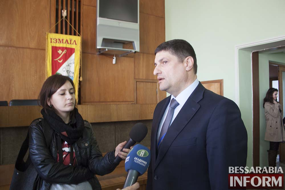 IMG_4041 Измаил посетил глава облсовета Михаил Шмушкович (фото, видео)