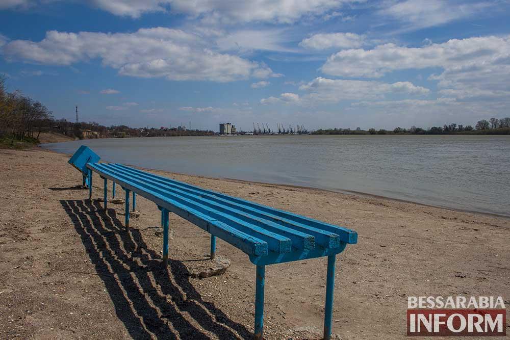 Весенние краски измаильского пляжа(фото)