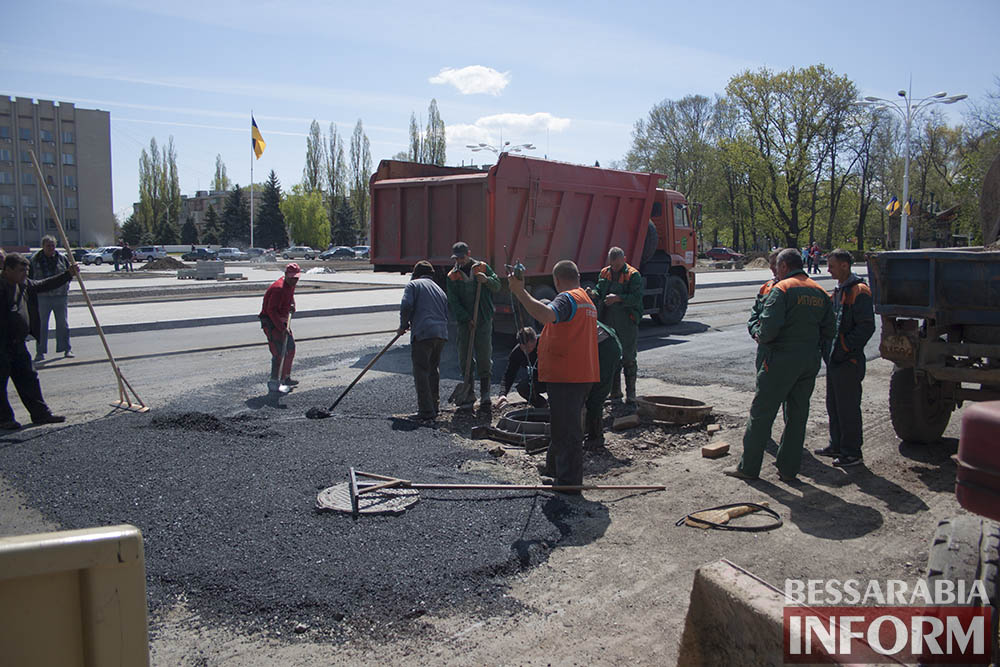 IMG_6228 В Измаиле пр-кт Суворова открыт для движения