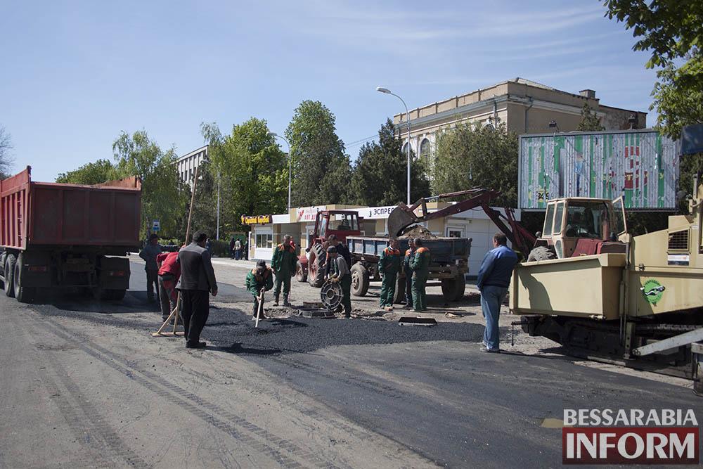 IMG_6230 В Измаиле пр-кт Суворова открыт для движения
