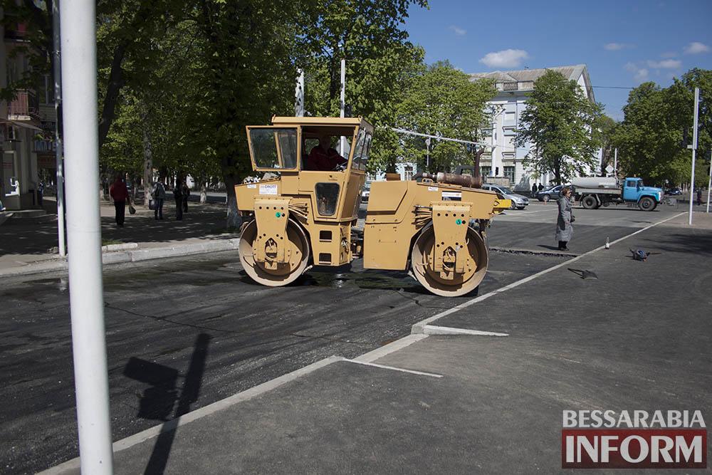 IMG_6234 В Измаиле пр-кт Суворова открыт для движения