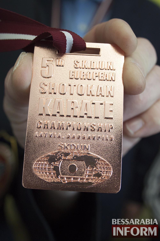 Измаильские каратисты стали чемпионами Европы