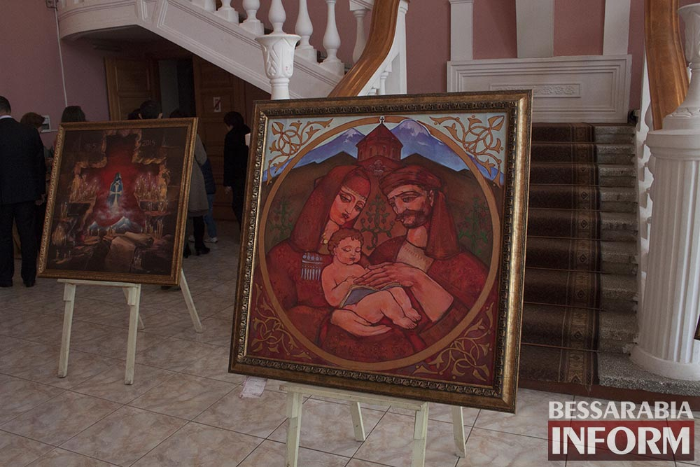 Измаил: в ДК отметили сотую годовщину Геноцида Армян (фото)