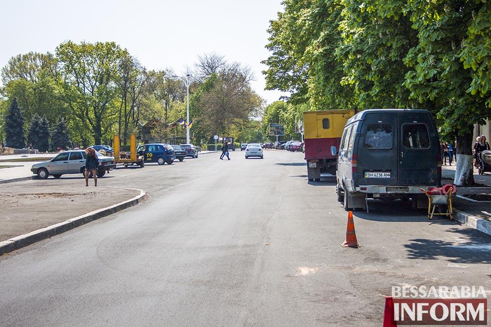 IMG_6500 В Измаиле пр-кт Суворова открыт для движения