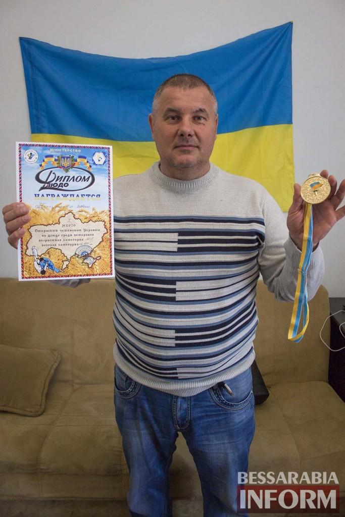 Измаильский дзюдоист попал в сборную Украины