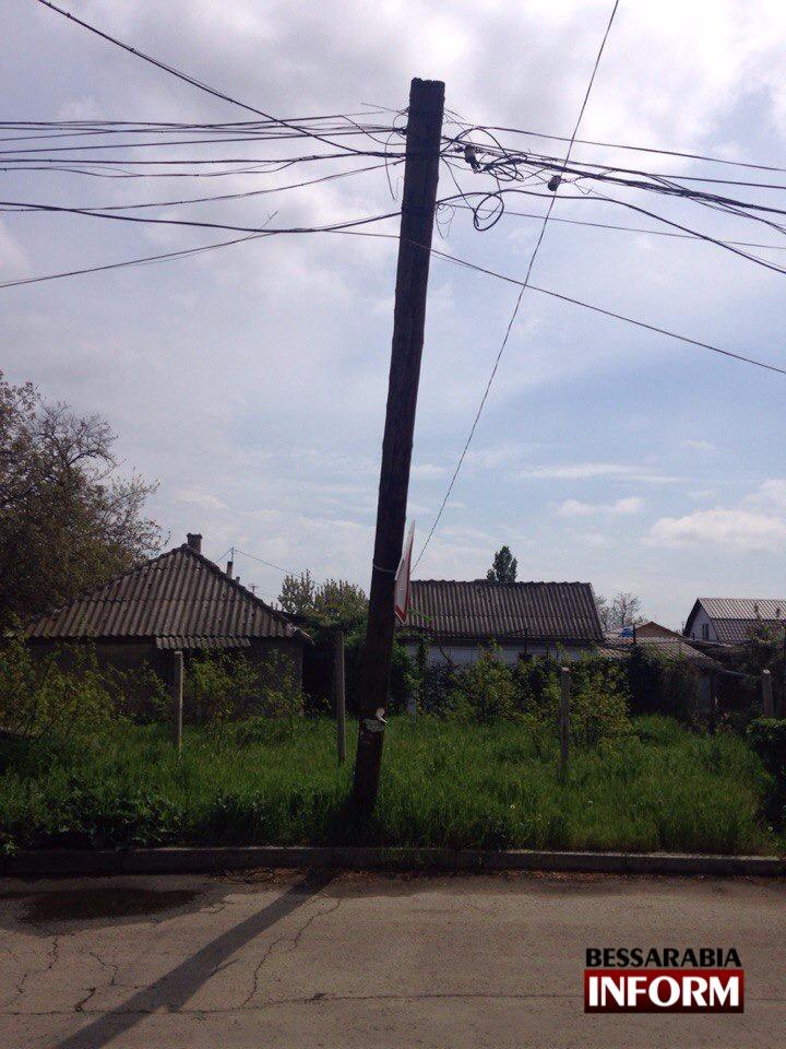 JHxPwFaQ_rg В Измаиле над дорогой нависла угроза (фото)