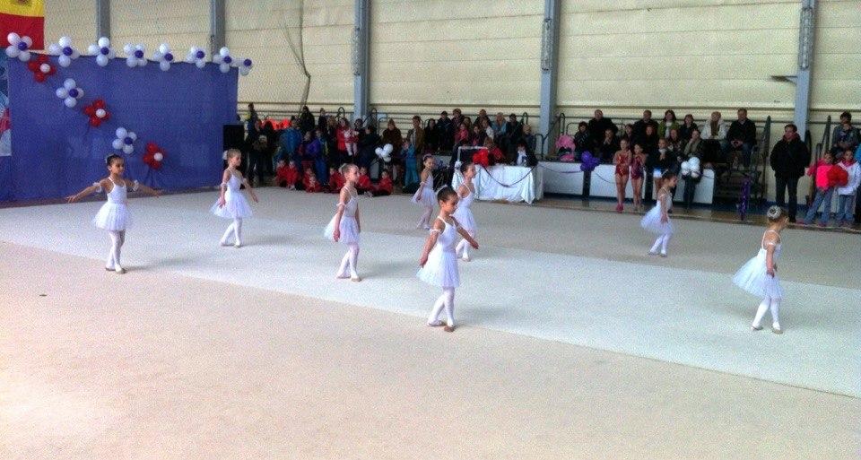 Измаильские гимнастки представляли Украину на международном турнире