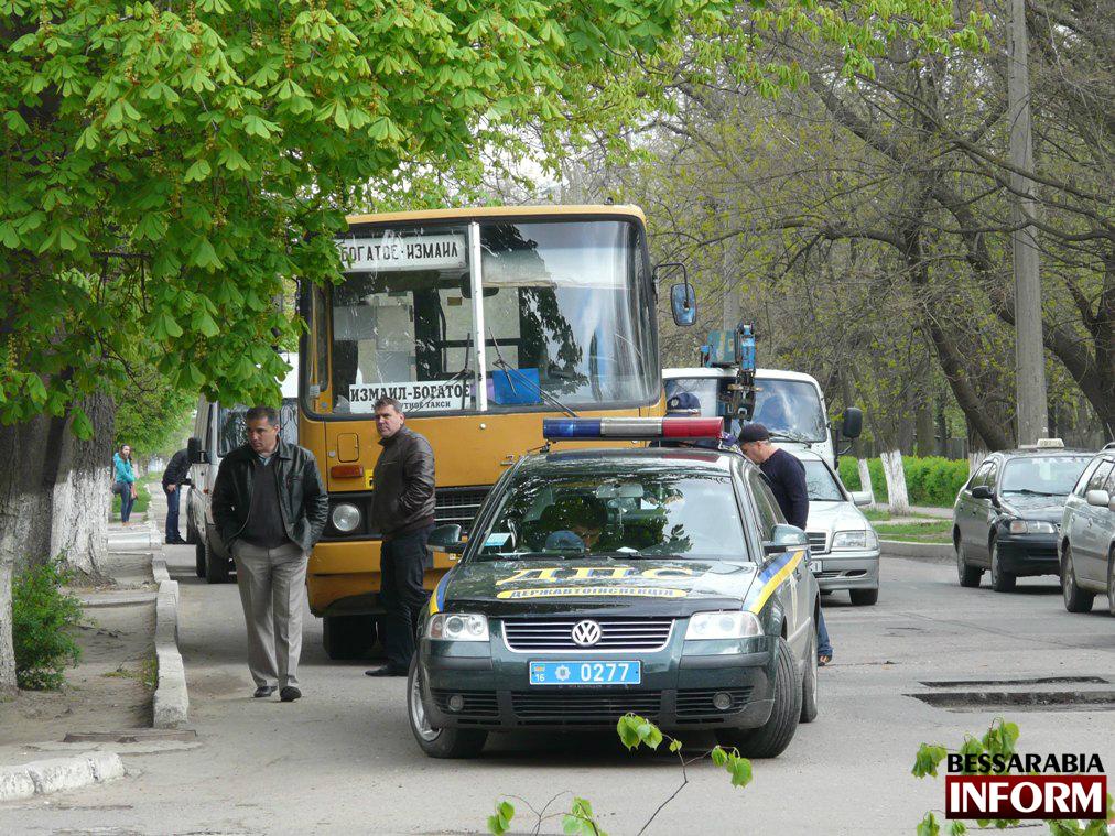 В Измаиле произошло тройное ДТП (фото)
