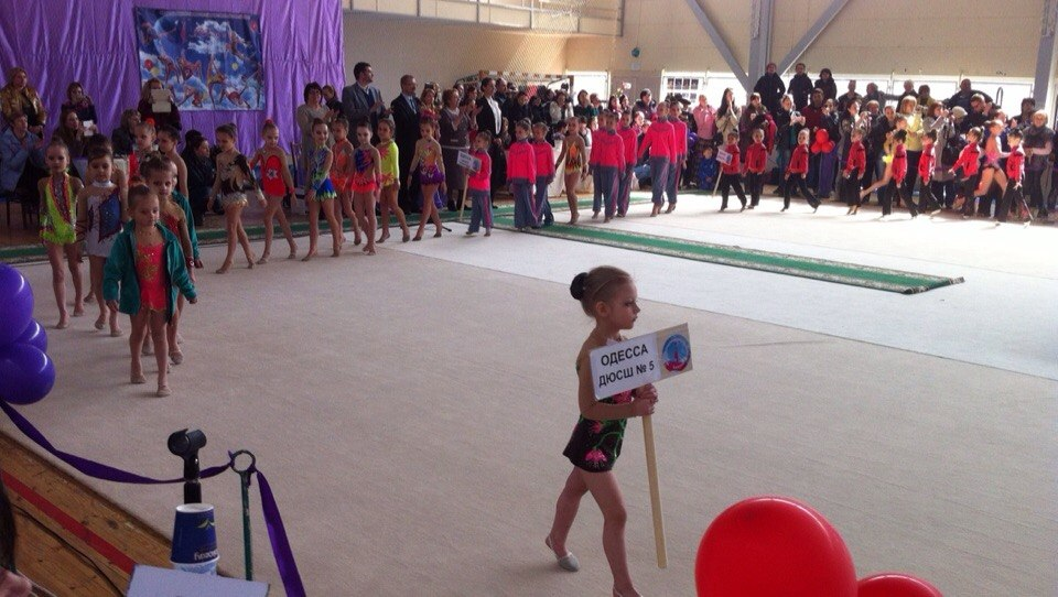 SjzTQau-iXY Измаильские гимнастки представляли Украину на международном турнире