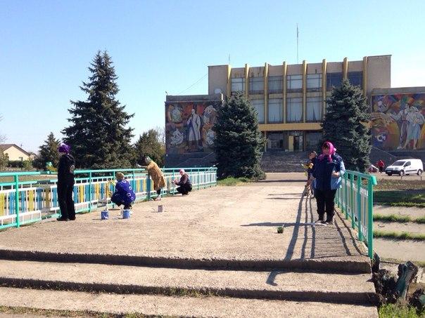 TSyjkqT_mhI В селе Шевченково Килийского р-на прошел традиционный субботник