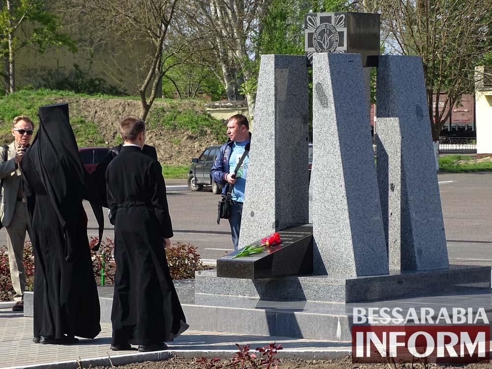 enJSaDPA9WA Измаил почтил память героев-ликвидаторов Чернобыльской катастрофы (фото)