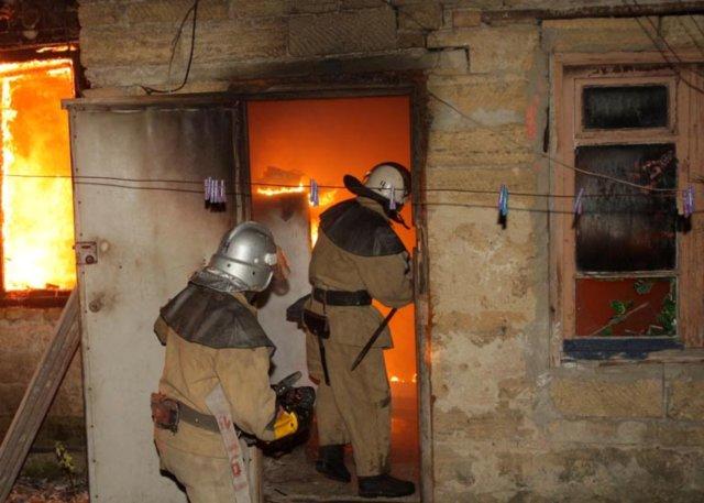 В Бессарабии во время пожара пострадал ребенок