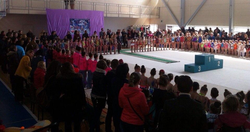 o6GlSRyTjMU Измаильские гимнастки представляли Украину на международном турнире