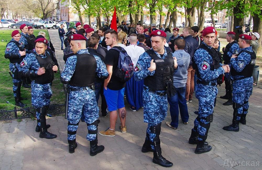"""picturepicture_11731753116149_31669 В Одессе разогнали """"митинг"""" """"Народной рады Бессарабии"""""""