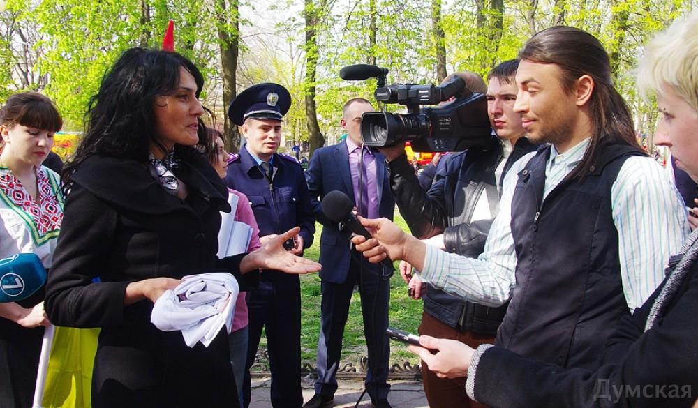"""picturepicture_3872375116145_96699 В Одессе разогнали """"митинг"""" """"Народной рады Бессарабии"""""""